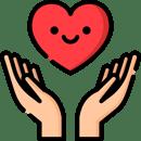mão e coração